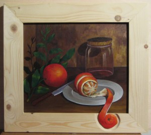 029 Pintura con relieve- Natanja 35x40