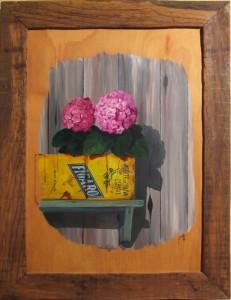031 Pintura- Hortencias 50x70