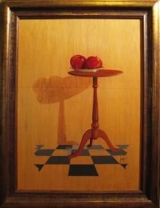 038 Pintura- Mesa manzanas 50x70