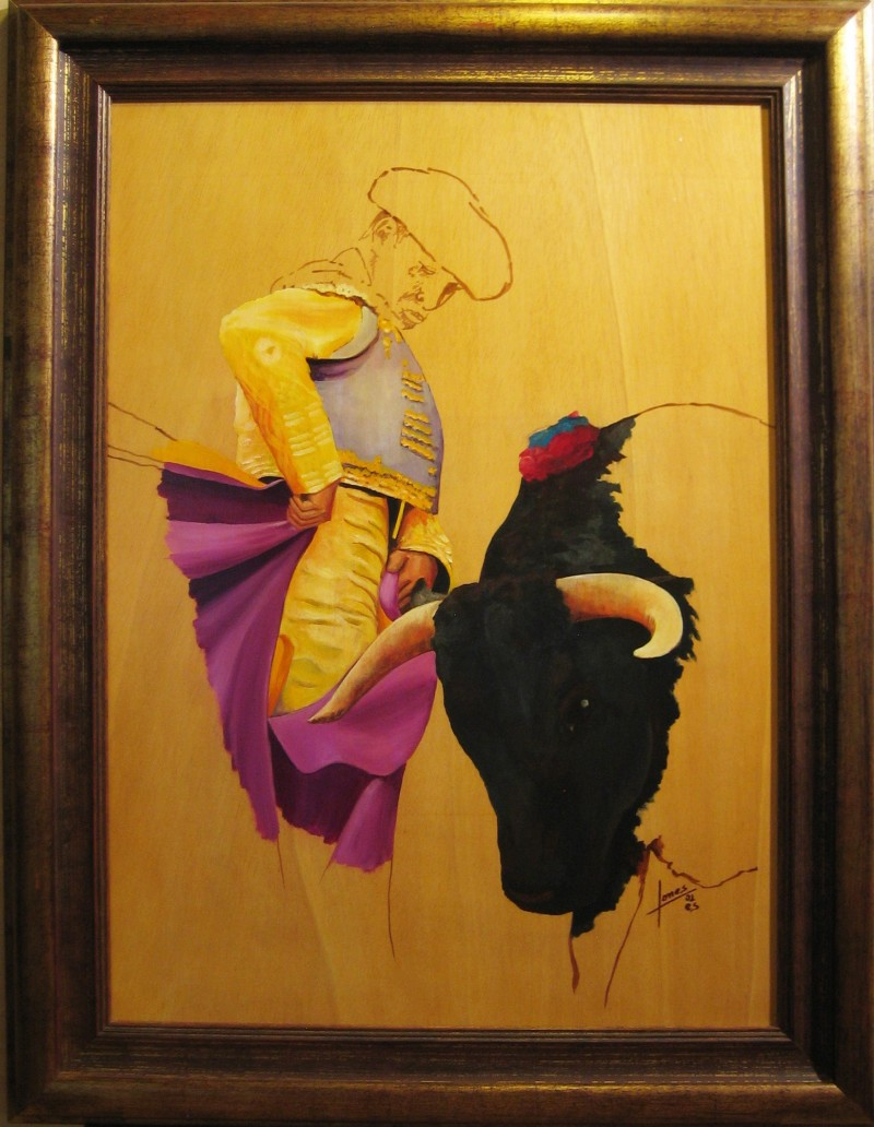 044 Pintura- Torero 50x70