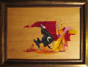 046 Pintura- Torero 50x70