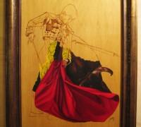 043 Toro y Torero 50x70